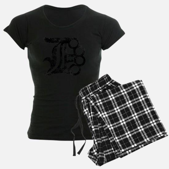 Detroit D Brass Knuckles Pajamas