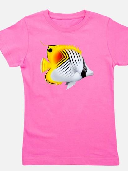 Auriga Threadfin Butterfly Girl's Tee