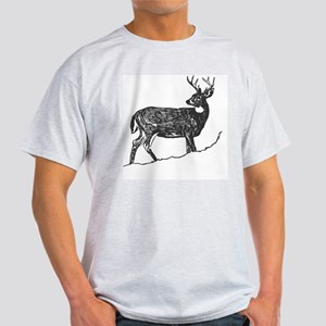 White Tailed Deer Trophy Buck Light T-Shirt