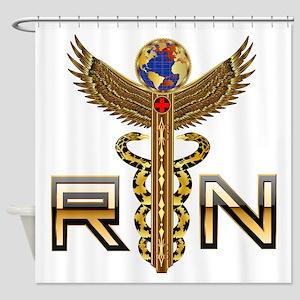 Medical RN 2 Shower Curtain
