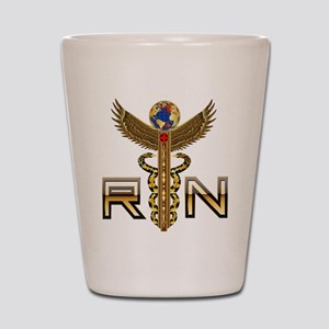 Medical RN 2 Shot Glass
