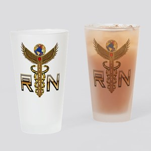 Medical RN 2 Drinking Glass