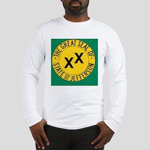 Jefferson Flag Long Sleeve T-Shirt