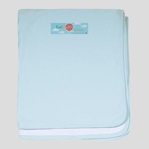 logo baby blanket