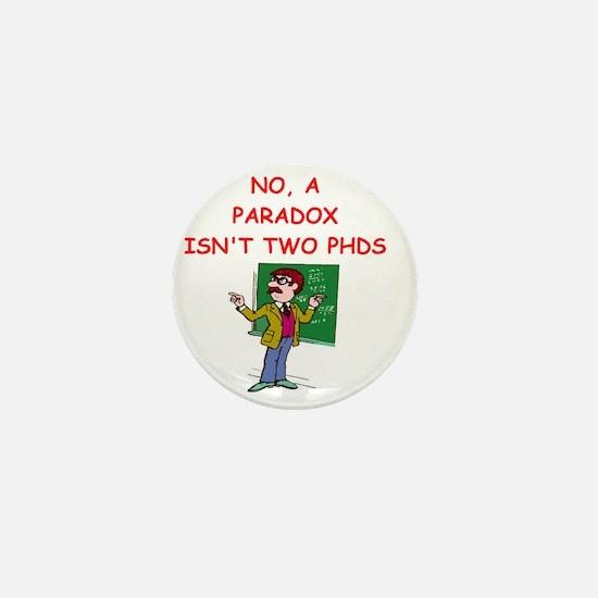 paradox Mini Button