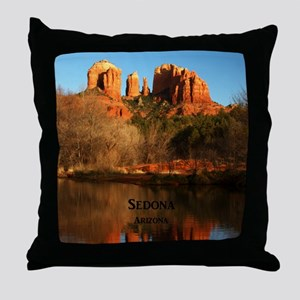 Sedona_34x44_TwinDuvet_CathedralRock Throw Pillow