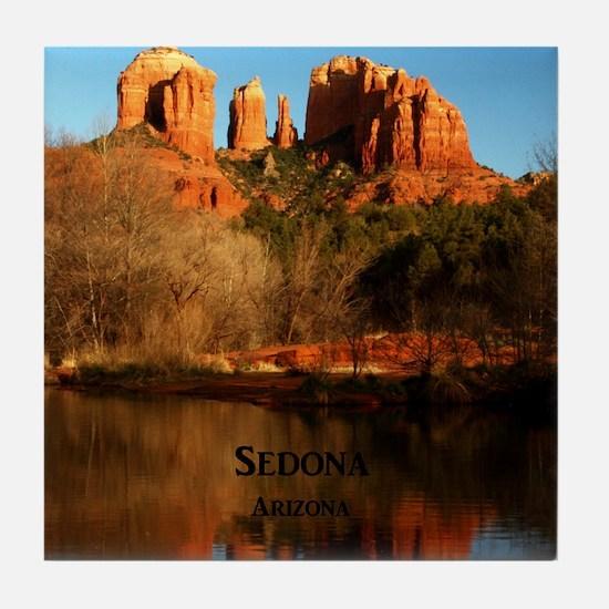 Sedona_34x44_TwinDuvet_CathedralRock Tile Coaster