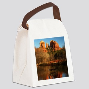 Sedona_34x44_TwinDuvet_CathedralR Canvas Lunch Bag