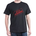 Just Married Stamp Dark T-Shirt