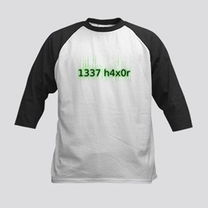 1337 h4x0r Kids Baseball Jersey