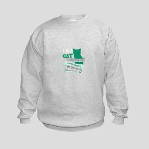 Cat Design Sweatshirt