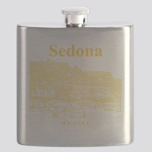 Sedona_12X12_MainStreet_Yellow Flask