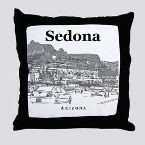 Sedona_10x10_v1_MainStreet_Black Throw Pillow