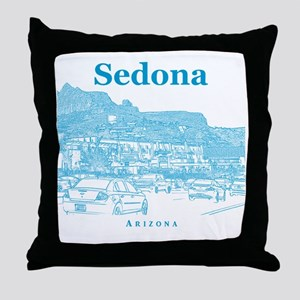 Sedona_10x10_v1_MainStreet_Blue Throw Pillow