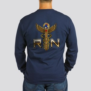 Medical RN 2 Long Sleeve Dark T Shirt
