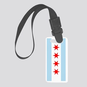 Chicago Flag Small Luggage Tag