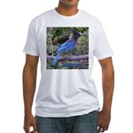 Steller's Jay Fitted T-Shirt
