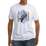 California Towhee Fitted T-Shirt