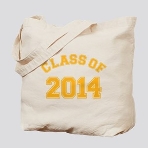 Class Of 2014 Yellow Tote Bag