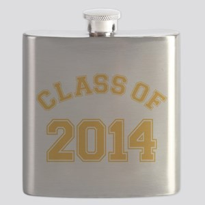 Class Of 2014 Yellow Flask
