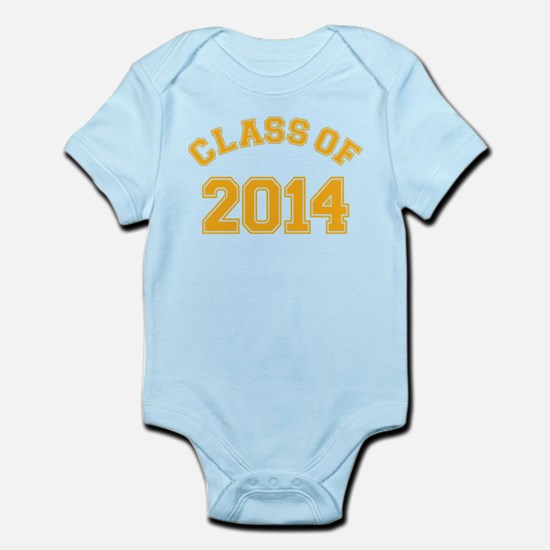 Class Of 2014 Yellow Body Suit