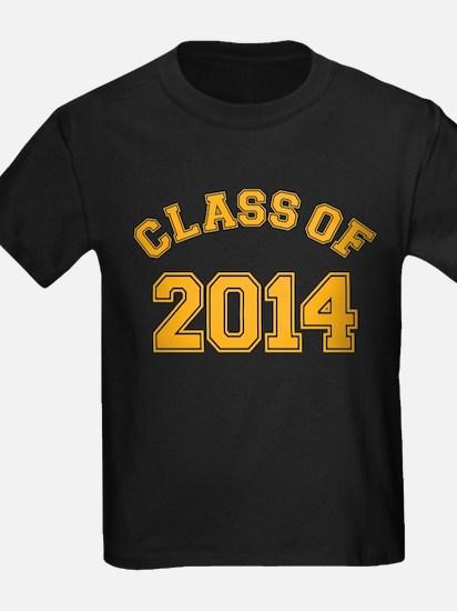 Class Of 2014 Yellow T-Shirt
