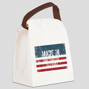 Made in San Francisco, California Canvas Lunch Bag