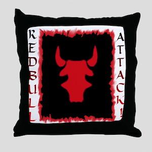 Redbull A Throw Pillow