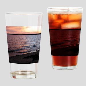 Multicolor sunset Port Hood Drinking Glass
