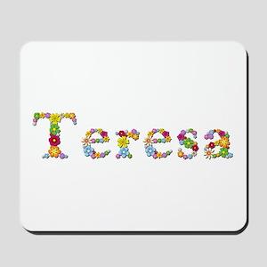 Teresa Bright Flowers Mousepad