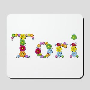 Tori Bright Flowers Mousepad