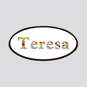 Teresa Bright Flowers Patch