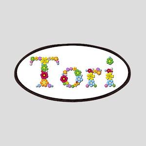 Tori Bright Flowers Patch