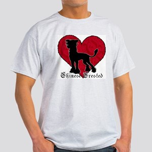Chinese Crested Heart Light T-Shirt