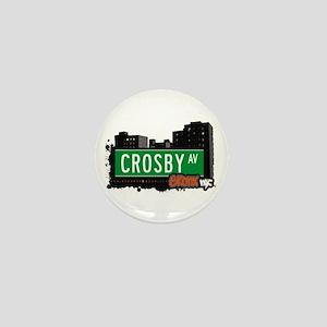 Crosby Av, Bronx, NYC Mini Button