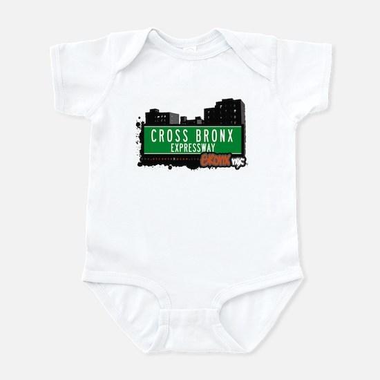 Cross Bronx Expwy, Bronx, NYC  Infant Bodysuit