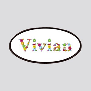 Vivian Bright Flowers Patch