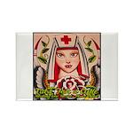 Nurse Healing Rectangle Magnet