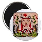 Nurse Healing Magnet