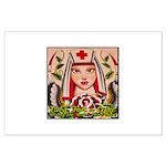 Nurse Healing Large Poster