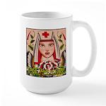 Nurse Healing Large Mug