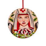 Nurse Healing Ornament (Round)