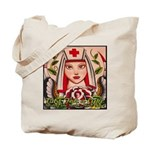 Nurse Healing Tote Bag