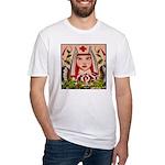 Nurse Healing Fitted T-Shirt