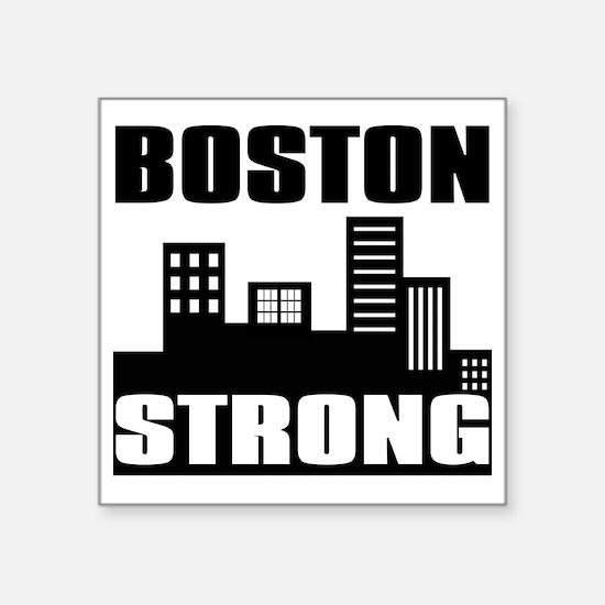 "Boston Strong: Square Sticker 3"" x 3"""