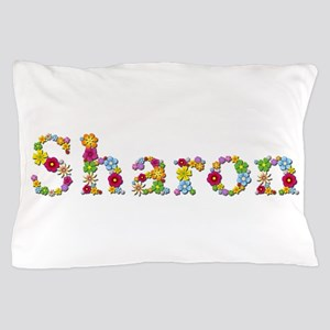 Sharon Bright Flowers Pillow Case