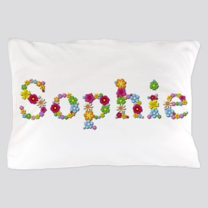 Sophie Bright Flowers Pillow Case