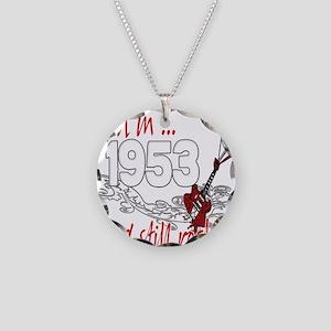 Birthyear 1953 copy Necklace Circle Charm