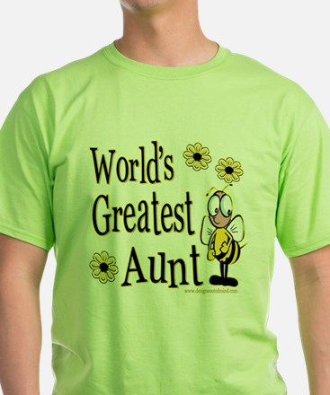 Beeworldsgreatestaunt copy.png T-Shirt