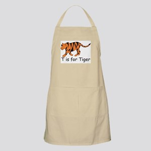 T is for Tiger BBQ Apron